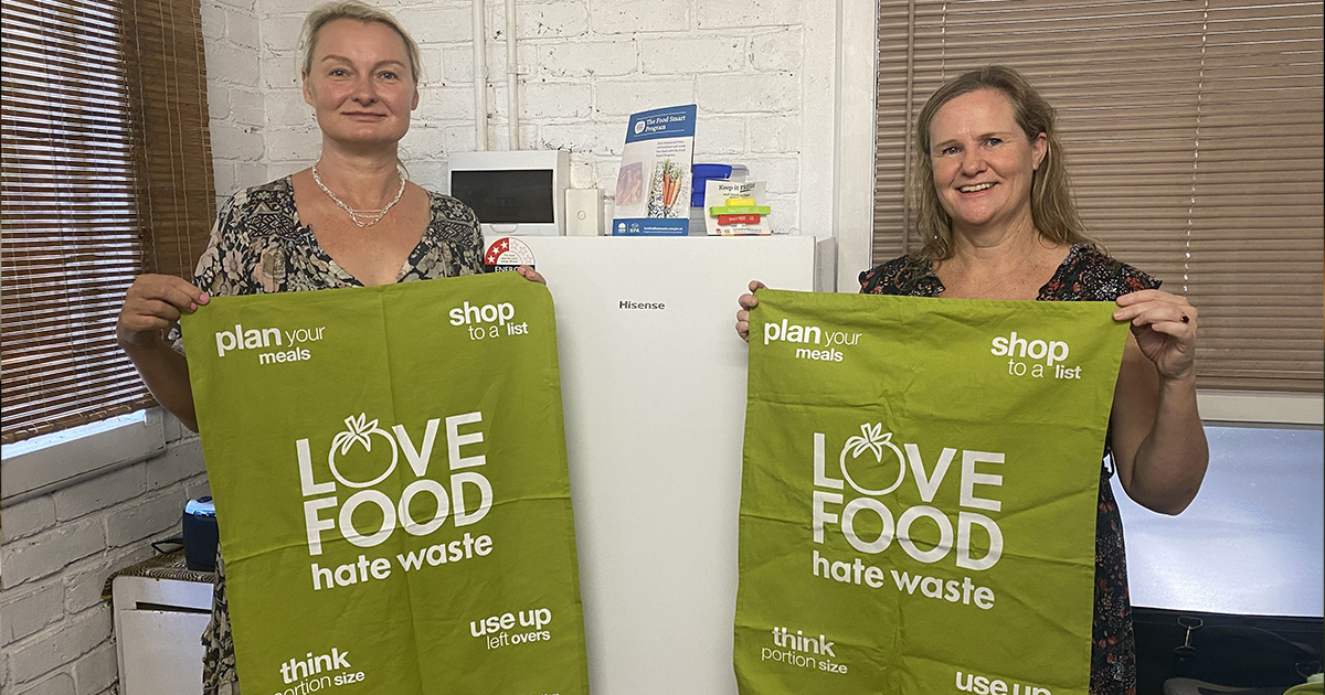 Food Smart (Love Food Hate Waste) participant wins ultimate prize to reduce food waste